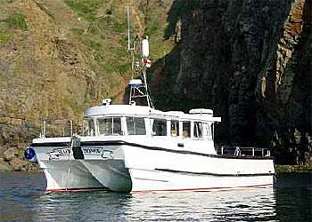 "state-of-the-art Catamaran ""Amy-K"""